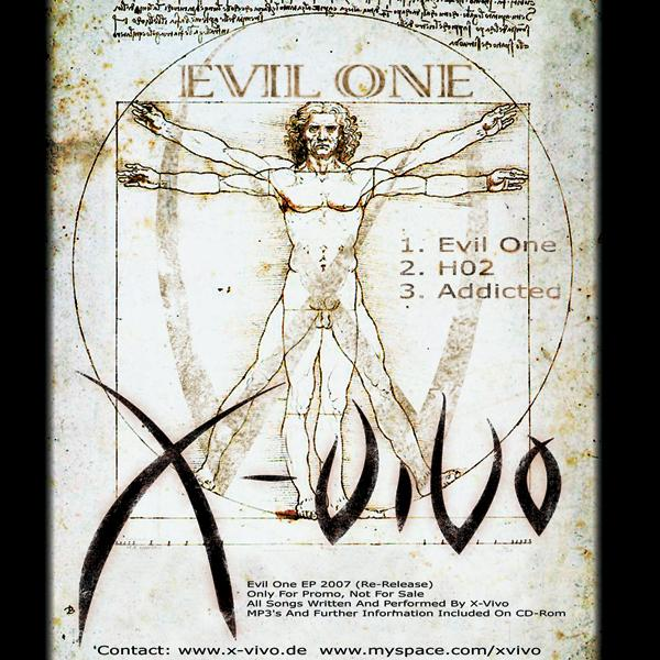 X-Vivo Evil One EP Cover Front