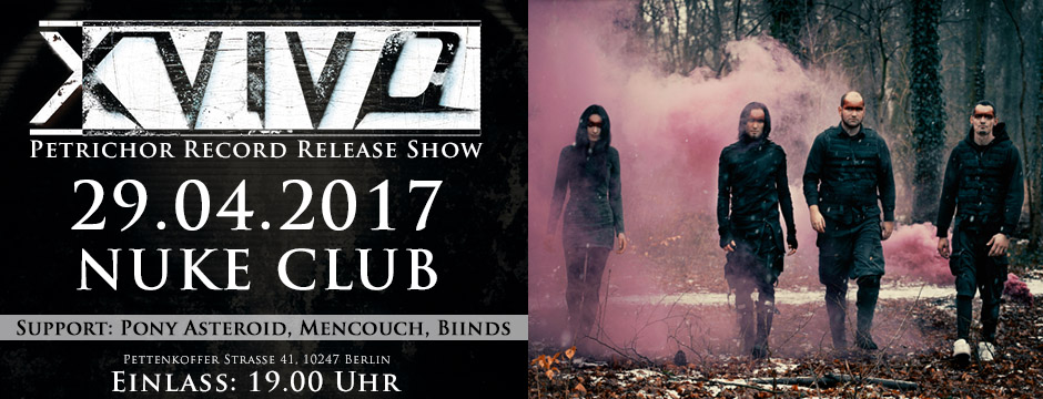 X-Vivo 29.4.2017 Record Release Nuke Club Berlin