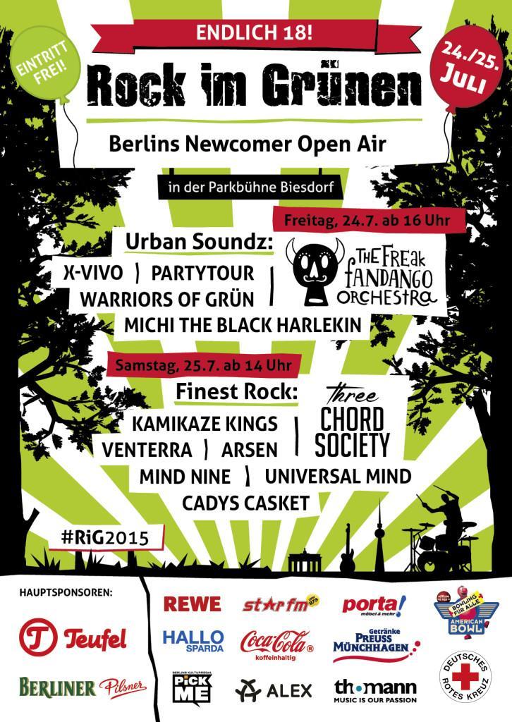 2015 Rock Im Grünen