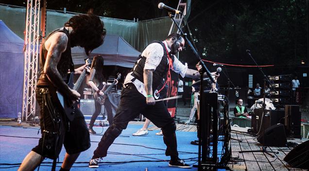 x-vivo rock im gruenen