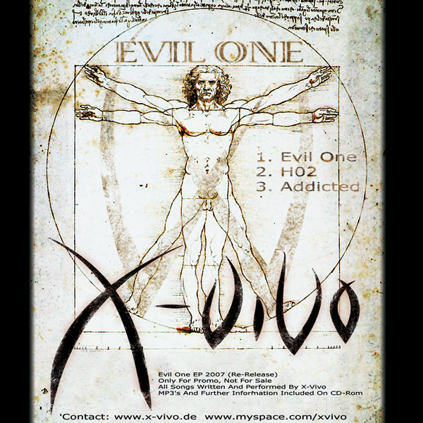 X-Vivo Evil One Cover